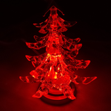 USB LED Christmas Tree when Red