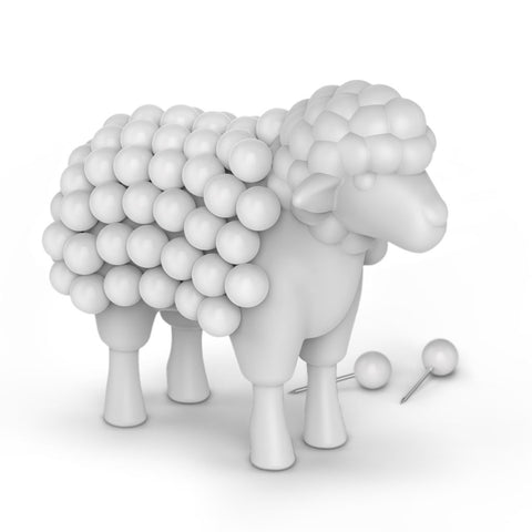 Stuck on Ewe - Pushpin Sheep