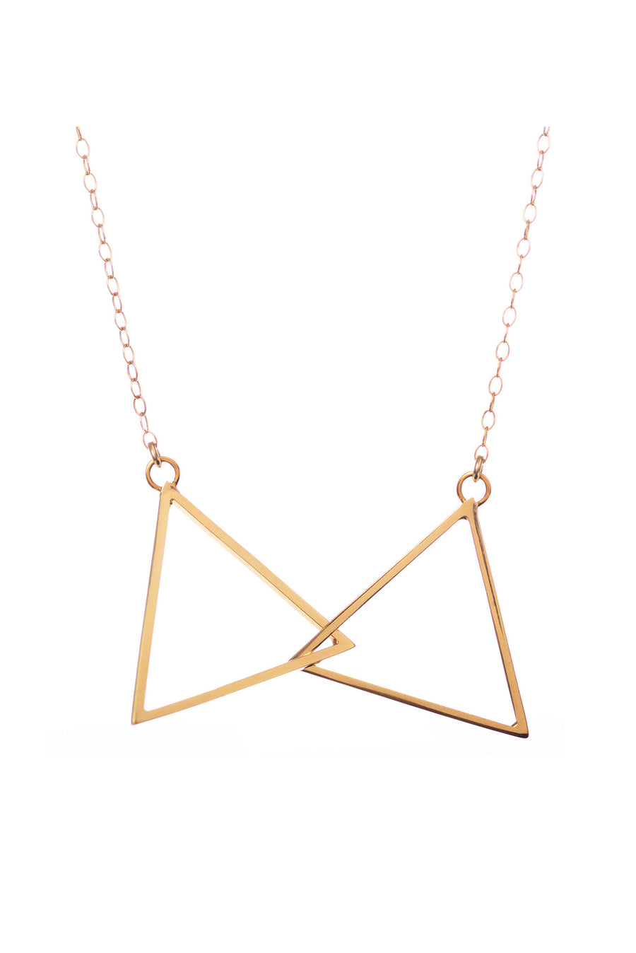 Connected, Gold Necklace