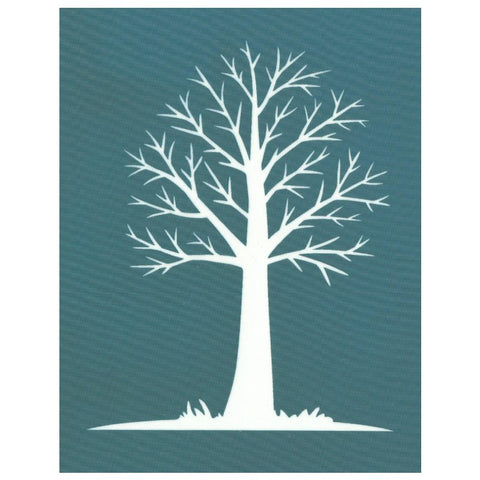 Silk Screening Stencil, Bare Tree Design