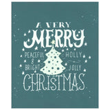 DIY T-Shirt Screen Printing Stencil Christmas Tree Design