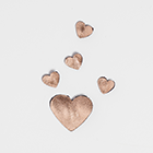 Copy of Rose Gold Hearts - Sandals