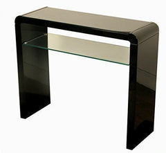 Georgia Black Gloss Console Table