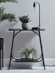 Brastilo Industrial Console Table