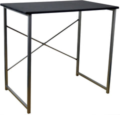 Computer Console Table - Black