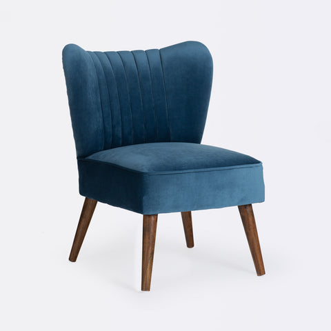 Bella Cocktail Chair - Midnight Blue