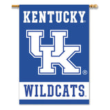 Kentucky Wildcats 2-Sided Outdoor Banner Flag