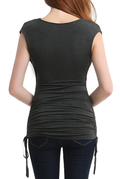 "PHISTIC Women's ""Baylee"" Cowl Neck Top"