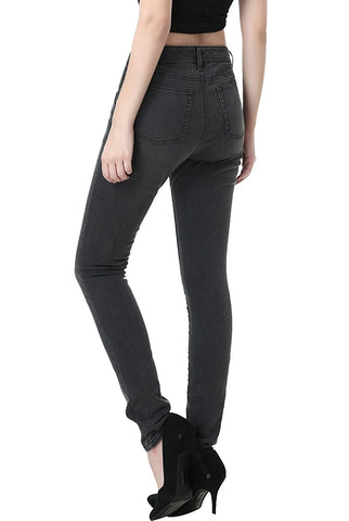phistic Women's Ultra Stretch Rich Indigo Skinny Jeans