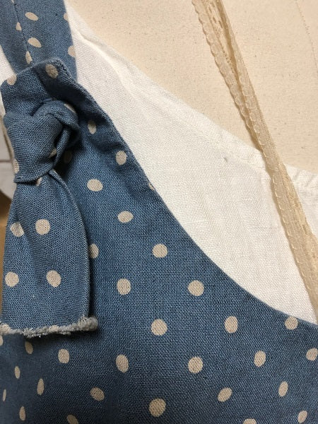 Arminda Pinafore Denim Dot, USA