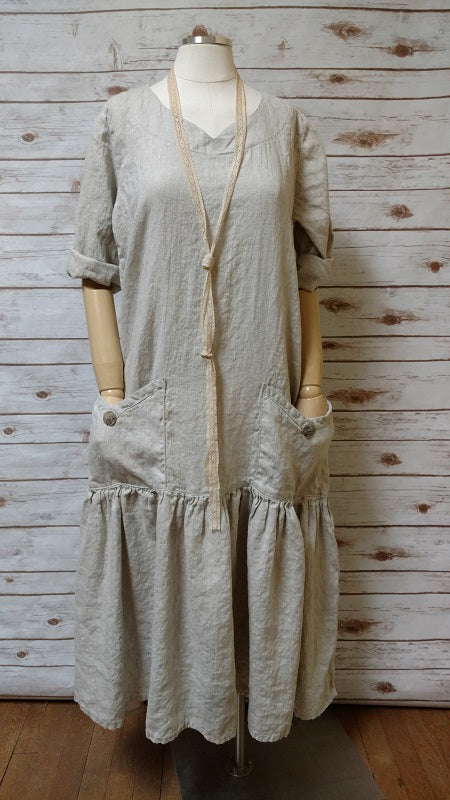 Dream Dress in Linen, USA