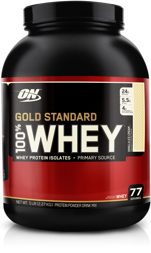 ON - Optimum Nutrition  100% Whey Gold Standard (5 lbs)