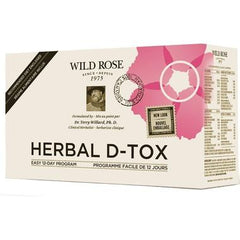 Herbal D-Tox Kit by Wild Rose (12 Day)