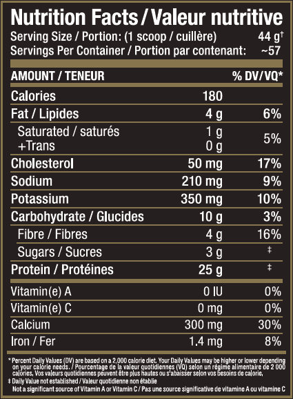 Ingredients for Allmax Nutrition: Hexapro (3 lbs)
