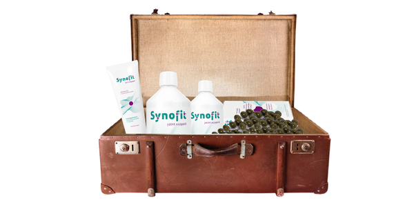 Taking Synofit while you are traveling.