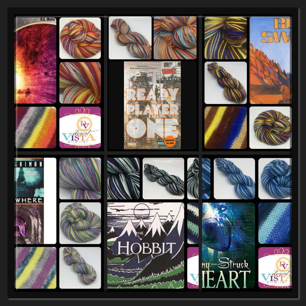 The Colors of Books Sci Fi/Fantasy Colorways