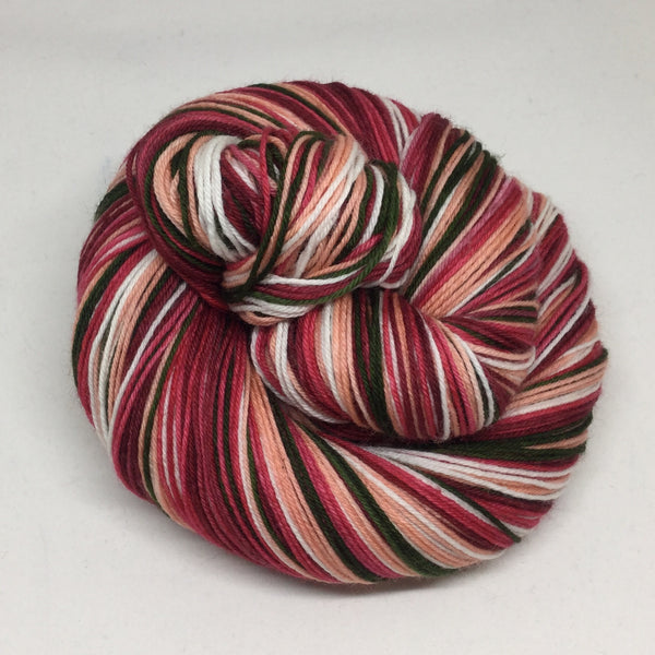 Holiday Striped Cup Five Stripe Self Striping Yarn