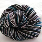 Color Accents - Teal Six Stripes Self Striping Yarn