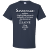 Personalized Sassenach Definition Unisex T-Shirt