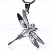 Stainless Steel Dragonfly Pendant