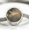 Dragonfly Stainless Steel Bracelet