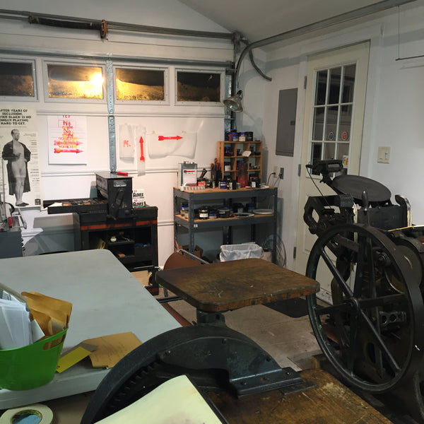 Intro to letterpress workshop [6:30PM-9:00] Pick your date-June 20, Tues. July 9, DAYTIME July 17, Wed. July 24, Wed.Aug 21   DAYTIME: Aug 22