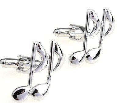 Music Notes Cufflinks - SOPHGENT