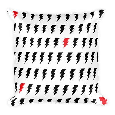 Double-Sided Bolt Pattern Pillow