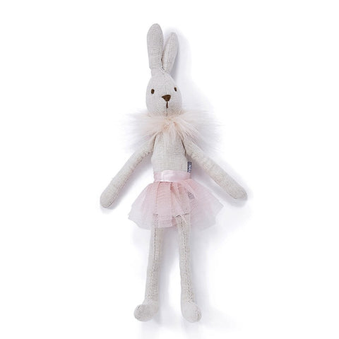 Ballerina Bunny Pink Soft Toy