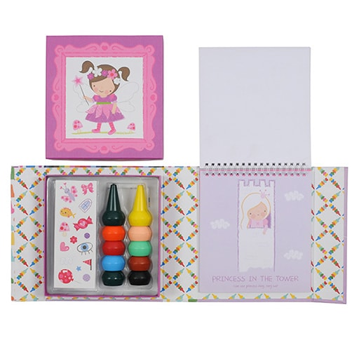 Piccolo Oodle Doodles Crayon Set - Girls