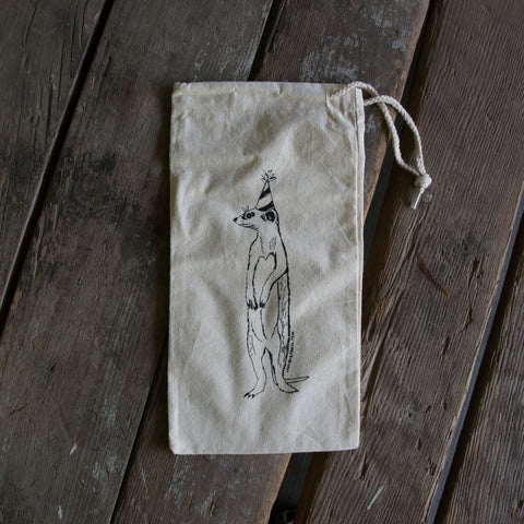 Meerkat Wine Bag, medium bulk and produce bag