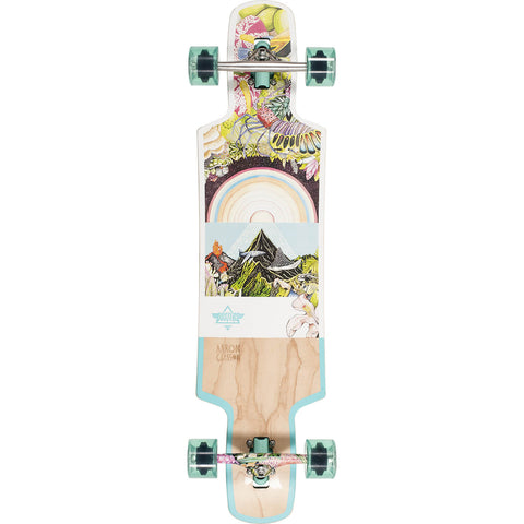"Dusters Biome Complete Longboard - 38.5"" Teal"