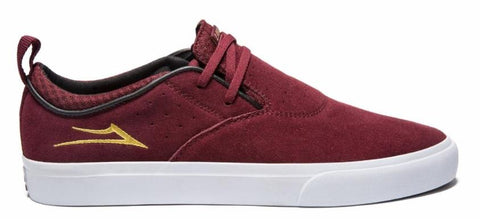 Lakai Shoes Riley 2 - Burgundy Suede