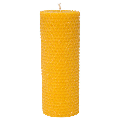 Beeswax Votive Pillar Candles Set