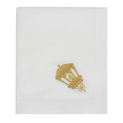 Golden Lantern Table Cloth