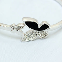 Parvaneh - Gold plated butterfly bracelet