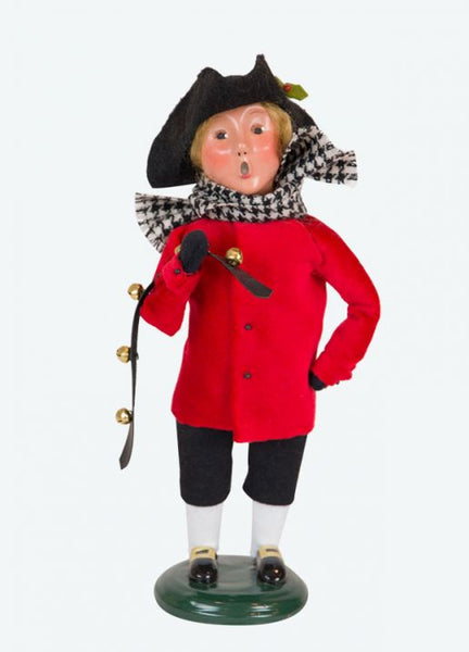 Colonial Boy Red/Black