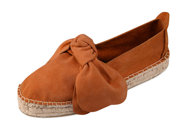 M-ISHKA Orange Double Sole Espadrilles - Grom & Kakao