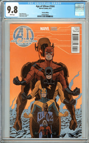 Age of Ultron #10AI CGC 9.8 White Pages (2013) 2030236021 Variant Edition
