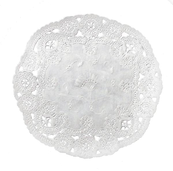 ROYAL PLUM French Lace Doilies