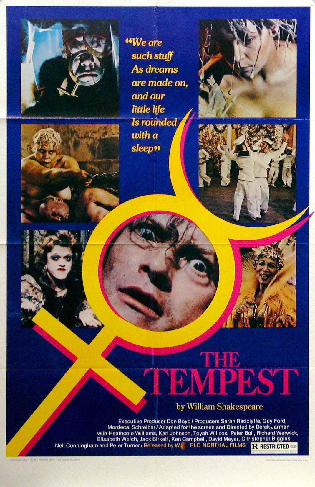 The Tempest 1 Sheet (27x41) Original Vintage Movie Poster
