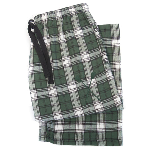 SxS Flannel Pants (Forest/White)