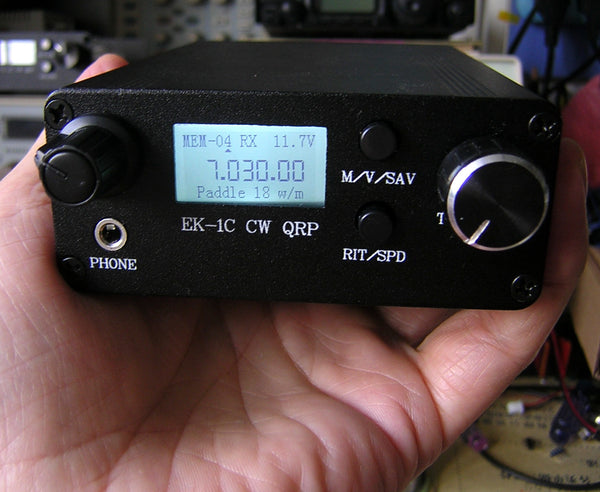 Youkits EK1C 3 band CW transceiver fully assembled and tested - Youkits