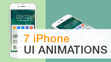8 iPhone UI Animation - After Effects Project