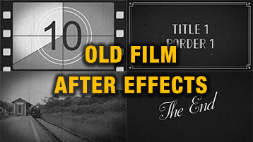 Old Film Vintage Look After Effects Template