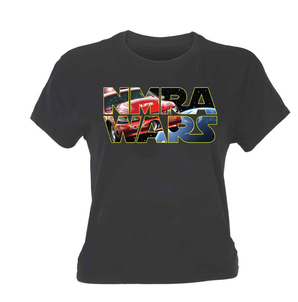 NMRA Wars - Women's Red Rocket Crew Neck tee