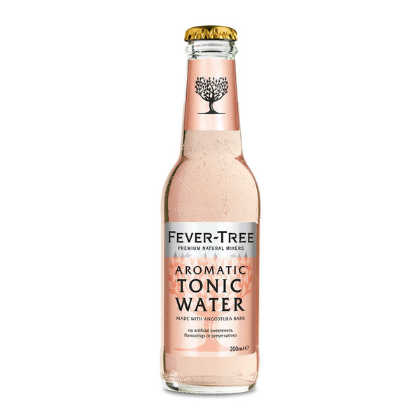 Grocemania Grocery Delivery London| Fever Tree - Aromatic Tonic Water 200ml