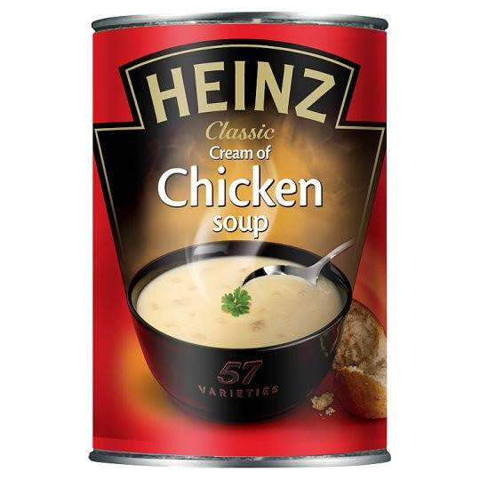 Grocemania Grocery Delivery London| Heinz Chicken Soup 400g