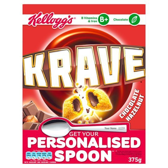 Grocemania Grocery Delivery London| Kelloggs Krave Cereal 375g
