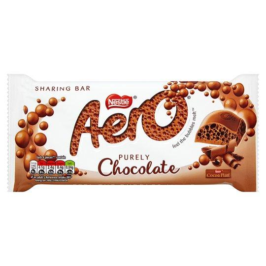 Grocemania Grocery Delivery London| Aero Chocolate 100g